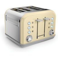 Buy Morphy Richards Accents 4 Slice Toaster - Cream - QD stores
