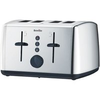 Buy Breville Vista 4 Slice Toaster - Stainless Steel - QD stores
