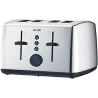 Buy Breville Vista 4 Slice Toaster - Stainless Steel - QD stores