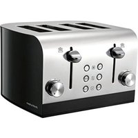 Buy Morphy Richards Equip 4 Slice Toaster - Black - QD stores