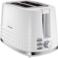Buy Morphy Richards Dimensions 2 Slice Toaster - White - QD stores