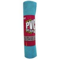 30cm x 120cm PVC Anti Slip Mat - Blue