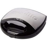 Buy Breville 2 Slice Sandwich Toaster - Brushed Stainless Steel & Black - QD stores
