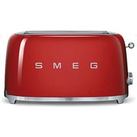 Buy Smeg Retro 4 Slice Toaster - Red - QD stores