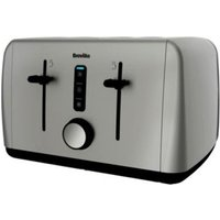 Buy Breville Stainless Steel 4 Slice Toaster - Brushed Stainless Steel - QD stores