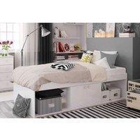 'Kudl Single Cabin Bed White