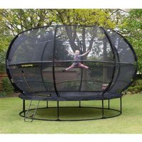 Jumpking Zorbpod Round 14ft Trampoline Safety Net & Pad