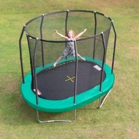 Jumpking Oval 7 X 10ft Trampoline Safety Net & Pad