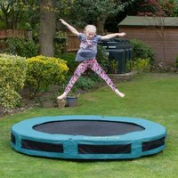 Jumpking Classic Round Inground 14ft Trampoline Safety Net & Pad