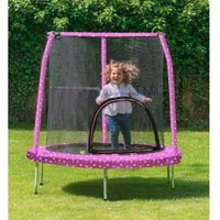Jumpking Kids My First 55in Trampoline Safety Net & Pad Princess