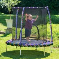 Jumpking Kids My First 55in Trampoline Safety Net & Pad Space