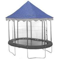 Jumpking Oval 7 X 10ft Trampoline Tent Canopy Stars