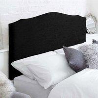 Hawkshead Black 4ft Queen Size Bed Headboard