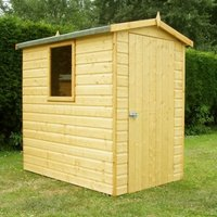 Shire Hi Spec Apex Garden Shed (6' x 4')