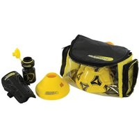 Kickmaster Backpack Training Set Black & Yellow