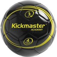 Kickmaster Academy Size 4 Training Ball Black