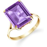 Amethyst Auroral Ring 6.5 ct in 9ct Gold - Fashion Gifts