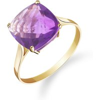 Amethyst Rococo Ring 3.6 ct in 9ct Gold - Fashion Gifts