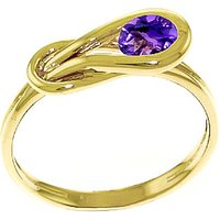 Amethyst San Francisco Ring 0.65 ct in 9ct Gold - Fashion Gifts