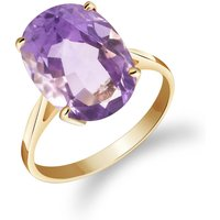 Amethyst Valiant Ring 7.55 ct in 9ct Gold - Fashion Gifts