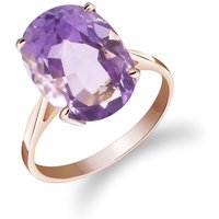Amethyst Valiant Ring 7.55 ct in 9ct Rose Gold