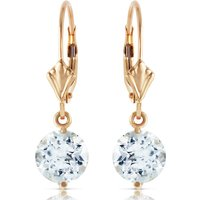 Aquamarine Drop Earrings 3.1 ctw in 9ct Gold - Jewellery Gifts