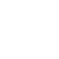 Blue Topaz Loop Knot Huggie Earrings 1.2 ctw in 9ct White Gold