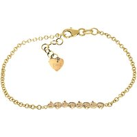 Citrine Adjustable Bracelet 1.55 ctw in 9ct Gold