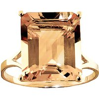 Citrine Auroral Ring 6.5 ct in 9ct Gold - Fashion Gifts