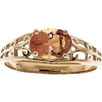 Citrine Catalan Filigree Ring 1.15 ct in 9ct Gold - Fashion Gifts