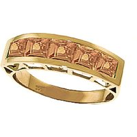 Citrine Prestige Ring 2.25 ctw in 9ct Gold - Fashion Gifts