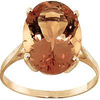 Citrine Valiant Ring 6 ct in 9ct Gold - Fashion Gifts