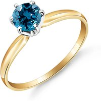 Diamond Crown Solitaire Ring 0.5 ct in 9ct Gold