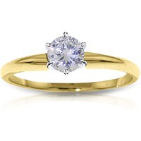 Diamond Solitaire Ring 0.35 ct in 9ct Gold
