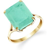 Emerald Auroral Ring 5.5 ct in 9ct Gold - Fashion Gifts
