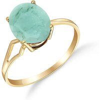 Image of Emerald Claw Set Ring 2.9 ct in 18ct Gold