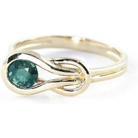 Emerald San Francisco Ring 0.65 ct in 9ct Gold - Fashion Gifts