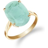 Emerald Valiant Ring 6.5 ct in 9ct Gold - Fashion Gifts