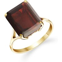 Garnet Auroral Ring 7 ct in 9ct Gold - Fashion Gifts