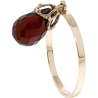 Garnet Crown Ring 3 ct in 9ct Gold - Fashion Gifts
