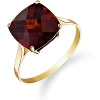 Garnet Rococo Ring 4.5 ct in 9ct Gold - Fashion Gifts