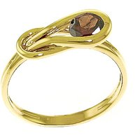 Garnet San Francisco Ring 0.65 ct in 9ct Gold - Fashion Gifts