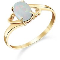 Opal Classic Desire Ring 0.45 ct in 9ct Gold - Classic Gifts