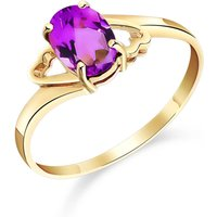 Pink Topaz Classic Desire Ring 1 ct in 9ct Gold - Classic Gifts