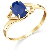 Sapphire Classic Desire Ring 1 ct in 9ct Gold - Classic Gifts