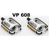 zubehör & teile>fahrradteile>pedale>plattform-pedale: VP -608 Comfort Pedal Non Slip Alu