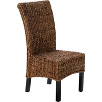 Sicily Abaca Rattan Indoor Dining Chair