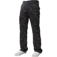 Raw Denim Designer Outlet - Kruze Mens Combat Cargo Camouflage Trousers by Kruze for £16.99 // Raw Denim