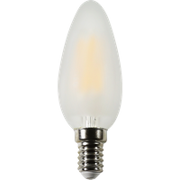 LEDs Licht LED Birnen C35 Kerze 4W E14 matt