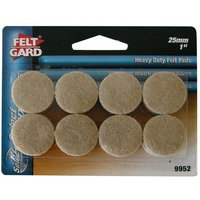 Select Hardware Feltgard Round Pads 25mm (16 pack)